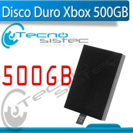 Disco Duro Xbox 500GB Para modelo Slim y E