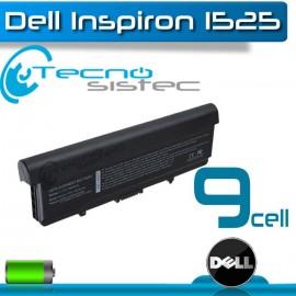 Bateria Dell Inspiron 1525 9cell Alta Duración