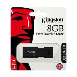 Pendrive Kingston 8GB USB 3.0/2.0 DT100G3