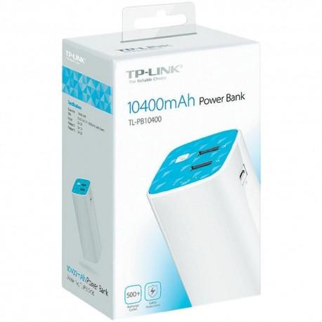 Bateria Portatil USB TP-link TL-PB10400 10400MHA