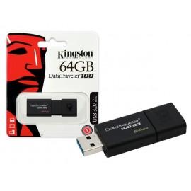 Pendrive Kingston 64GB DT100G3 USB 3.0/2.0