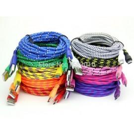 Cable USB a MicroUSB 3 Metros Cordon