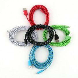 Cable USB a MicroUSB 2 Metros Cordon