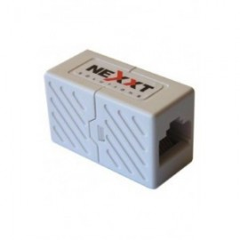Acoplador de cables de Red Cat5e Marca NEXXT
