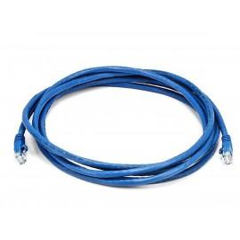 Cable de RED Cat5e Azul Marca NEXXT 2,1MT
