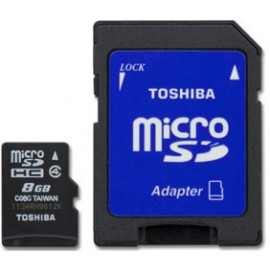 Memoria Micro SD TOSHIBA 8GB Class 4