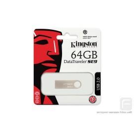 Pendrive kingston USB Metalico 64GB DTSE9H/64GB
