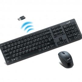 Combo Teclado Mouse Genius Slim Wireless 8000ME