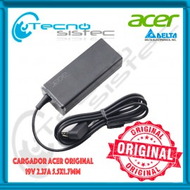 Cargador Acer Original 19V 2.37A 5.5x1.7mm