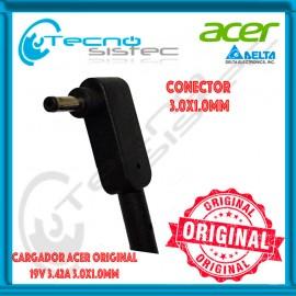Cargador Acer Original 19V 3.42A 3.0x1.1mm