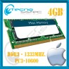 MEMORIA PC3-10600 4GB UNIBODY MACBOOK - MAC MINI