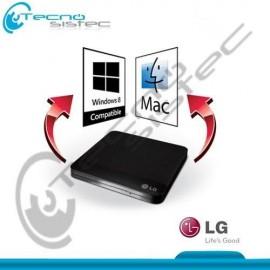 Grabador de DVD Slim Externo LG GP50 Negro USB