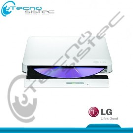 Grabador de DVD Slim Externo LG GP50 Blanco USB