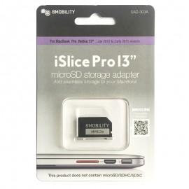 "Adaptador MicroSD 8Mobility iSlice para MacBook Pro Retina 13"""