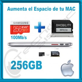 Upgrade de Almacenamiento para MacBook Air y Pro Retina 256GB