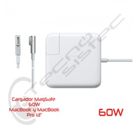 Cargador Magsafe 1 60W Alternativo de Alta Calidad (Garantía 6 Meses)