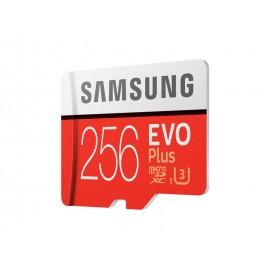 Tarjeta Micro Sd Samsung Evo Plus 256gb 90m/s U3 4k Original