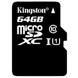 SDC10G2/64GB KINGSTON MICRO SD XC 64GB CLASS 10