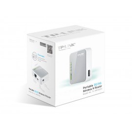Router Inalambrico N Portatil 3G/4G TL-MR3020