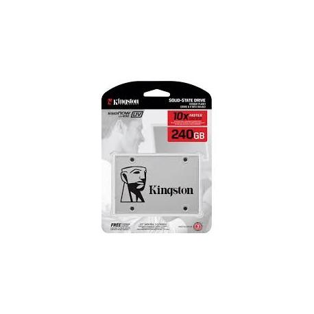 Disco Duro SSDNow Kingston UV400 240GB SATA 3 2.5