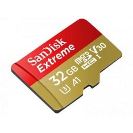 Memoria Micro Sd Sandisk Extreme 32gb Ideal Para Grabar 4k