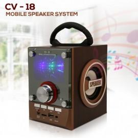 Parlante Bluetooth Estéreo CV-18 con bateria