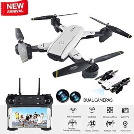 Drone Plegable SG-700 Cámara de 2MP HD-multicolor WIFI - Giro 360