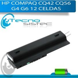 Bateria HP Compaq CQ42 G42 G62 CQ56 DV6 12 Cell.