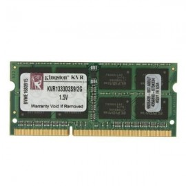 Kingston Sodimm 2GB DDR3 1333Mhz. PC10600