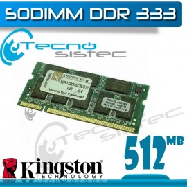 Kingston Sodimm 512MB 333Mhz