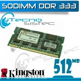 Kingston Sodimm 512MB 333Mhz