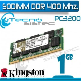 Kingston Sodimm DDR400 1GB