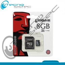 Micro SD HC 8GB Kingston Class 4