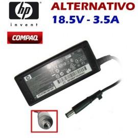 Cargador HP Compaq Aguja Alternativo 18.5V 3.5A