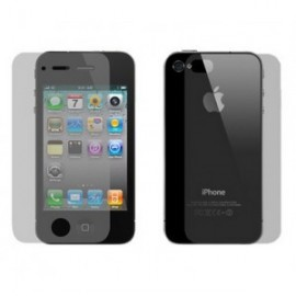 Lamina Transparente Iphone 4, 4S Frontal y Trasera