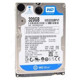 Disco Duro Blue WD 320 GB 2.5 SATA WD3200BPVT