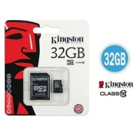 Memoria Micro SD Kingston 32GB microSDHC Class 10