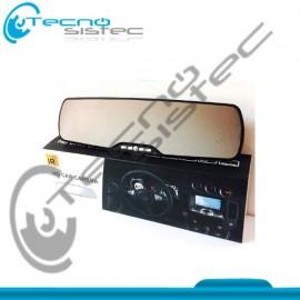 Espejo Retrovisor Camara Full HD 1080p Pantalla 2.7