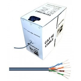 Caja Cable de Red UTP Unifilar Cat. 5e 305 Metros