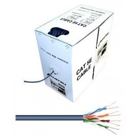Caja Cable de Red UTP Unifilar Cat. 5e 305 Metros