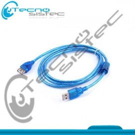 Cable Extension USB Macho a Hembra 1.5 Metros