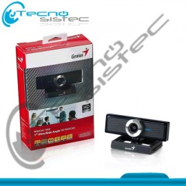 Genius WebCam WideCam 1050 HD/MF/USB 12M Negro