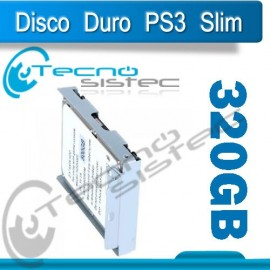 Disco Duro 320GB PLay Station 3 Super Slim PS3