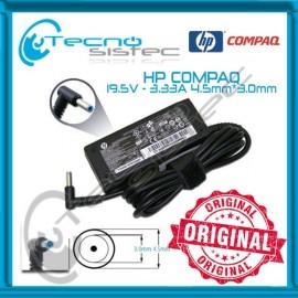 Cargador Hp Compaq 19.5V 3.33A P. Azul Ultrabook