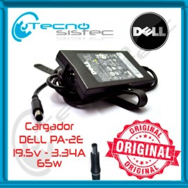 Cargador Dell PA-2E Original 19.5V 3.34A 65W