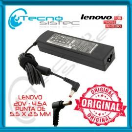 Cargador Lenovo 20V 4.5A 90W