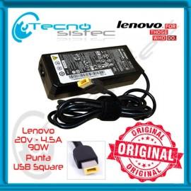 Cargador Lenovo 20V 4.5A 90W USB Square