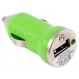 Cargador USB 5V 1A Auto 12V-24V Para Smarphone