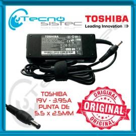 Cargador Toshiba Original 19V 3.95A
