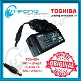 Cargador Toshiba Original 19V 3.42A 65W 5.5 X 2.5